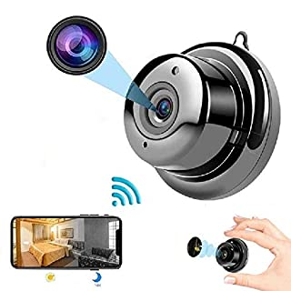 WiFi Mini Camera HD 1080P Small Wireless Camera with IP Camera Camera kit for Home Security CCTV Mini Camera Baby Monitor, Nanny Camera