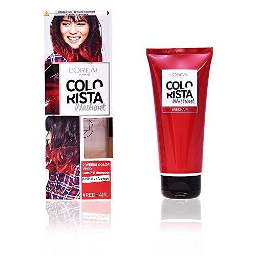 LOreal Paris Colorista Coloracion Temporal Colorista Washout - Red Hair