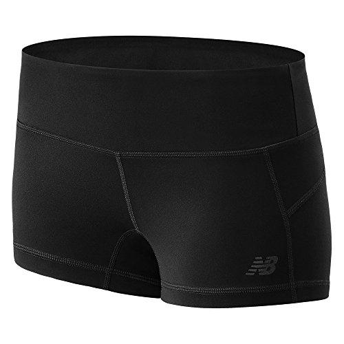 New Balance Womens Premium Performance Hot Shorts Black