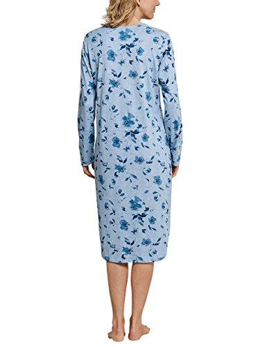 Hellblau Camicia Donna Schiesser Blu da 805 Notte wzqnXp7