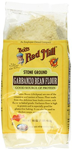 Bob's Red Mill Flour Garbanzo Bean, 16-ounces (Pack of 4)