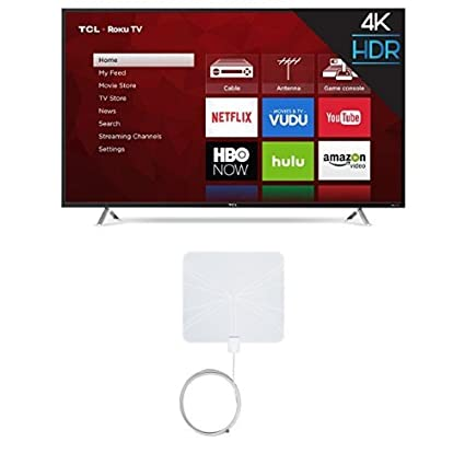 Amazoncom Tcl 55s405 55 Inch 4k Ultra Hd Roku Smart Led Tv 2017