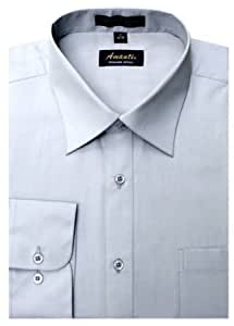 Amanti cl1010 17x36 37 amanti mens wrinkle for Wrinkle free dress shirts amazon