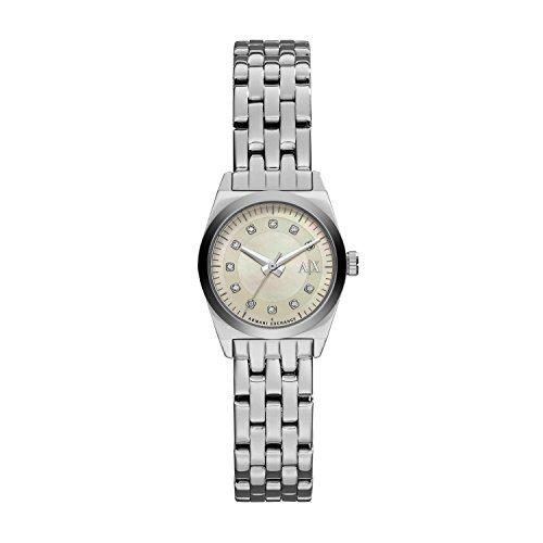 Armani Exchange AX5330 Ladies Active Miss Jackson Silver Watch