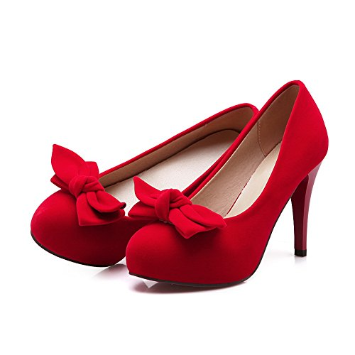 Adee, Chaussures À Talons Hauts Pour Femmes, Rouge (red), 35