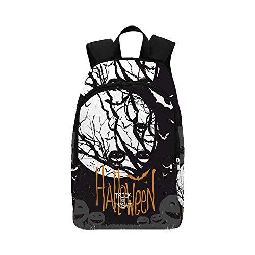 Halloween Parade Gif - Vintage Halloween Durable Backpack,Halloween Themed Image