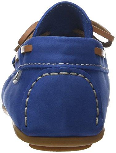 Hush Puppies Jungen Dabi Bootsschuhe Bleu (Bleu)