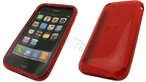 OEM JELLY BELLY CHERRY CASE FOR IPHONE 3G 3GS - Iphone 3g Cherry