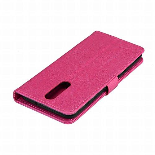 cadre Etui Housse Lite Cover rouge Huawei Pu Portefeuille Pochette 10 Laybomo Pink Mate Cuir Pour Photo Doux Aimant Coque Protecteur Tpu xqIXZnYa