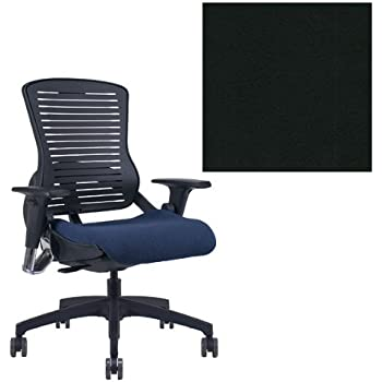 Office Master OM5 Black Frame Ergonomic Modern Stylish Office Chair With  Adjustable Arms   Grade 1