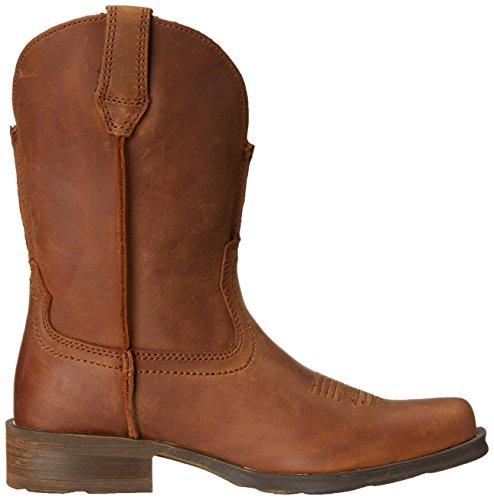 Stivali Da Cowboy Western Ariat Womens Rambler Spolverati Di Marrone