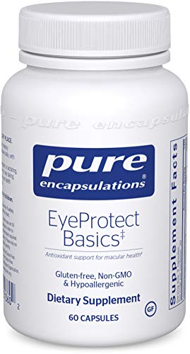 Pure Encapsulations - EyeProtect Basics - Key Antioxidant Support for Eye Health* - 60 Capsules