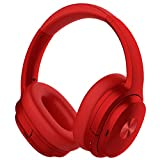 COWIN SE7 Active Noise Cancelling Headphones Bluetooth Headphones Wireless Headphones Over Ear with Mic/Aptx, Comfortable Protein Earpads 50H Playtime, Foldable Headphones for Travel/Work - Wine