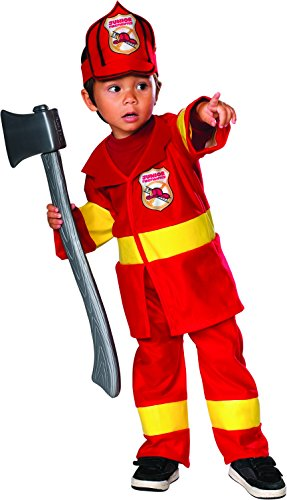Jr Firefighter Costume