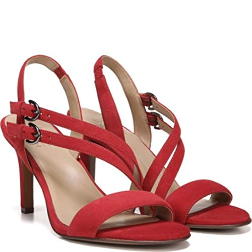 Naturalizer Women's Kayla Heeled Sandal, Hot Sauce