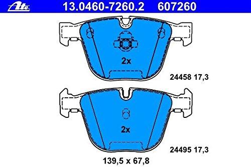 Bosch 0986494117 EuroLine Disc Brake Pad Set