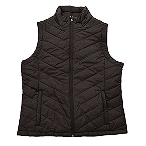 (Columbia Womens Morning Light III Onmi Heat Winter Jacket Vest, Black (010), Large)
