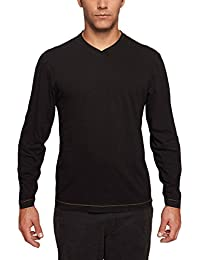TADD by Thadddeus Mens Chip Long Sleeve Jersey V-Neck T Shirt
