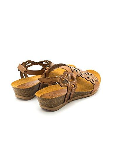 In Yokono Nero Nera Pelle 056 Sandalo Java OSq5H