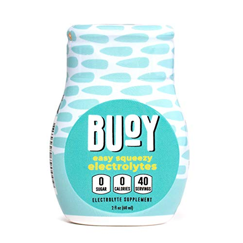 Buoy | Easy Squeezy Electrolytes | 40 Servings | All Natural | Great for Keto | Make Every Drink More Hydrating | Coffee, Beer, Wine, Water, Shakes, Smoothies, Tea, Even Soup | No Sugar, No Calories