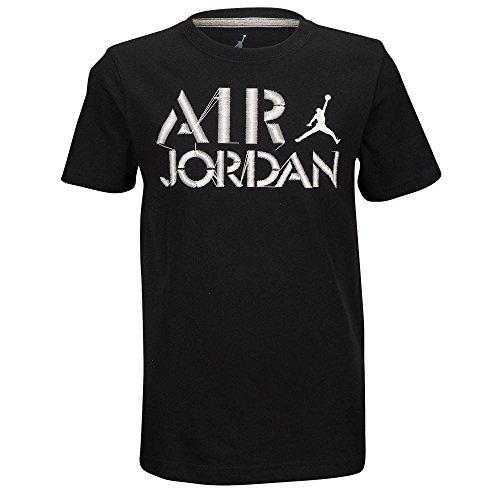 Boys Youth Jordan Zig Zag T-Shirt Black XL