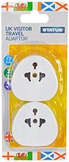 Status SUKVISTA2PK4 Gizmo-Adattatore, colore: bianco (confezione da 2)