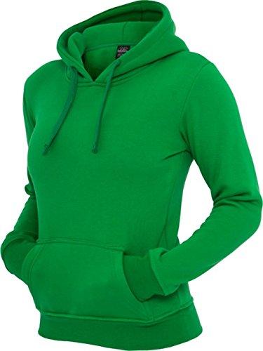 Urban classics pull à capuche pour femme coupe regular fit tB222 -  Vert - X-Large