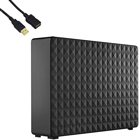 Seagate Expansion 10TB External Hard Drive 3.5 inch USB 3.0 for Laptop Desktop Windows Computer, Crypto Chia Mining - STEB10000400