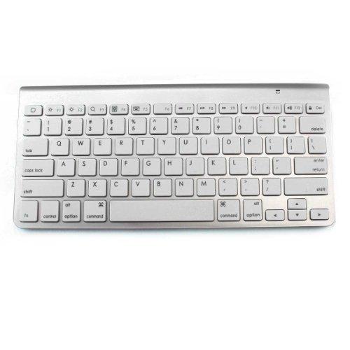 "LB1 High Performance New Wireless Keyboard for Lenovo 15.6"" ThinkPad Notebook 4 GB Memory 500 GB Hard Drive Black 23595JU Ultra-Slim Portable Bluetooth Keyboard (Silver)"