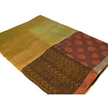 Chocolate patchwork throw table cloth by Chocolate