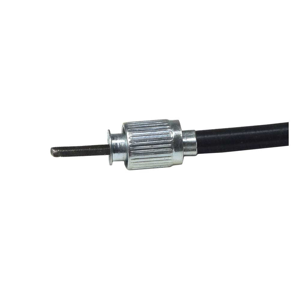40 Speedometer Cable with Metal Snap-In End for Scooters /& Go-Karts