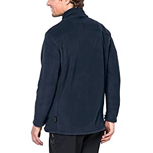 Jack Wolfskin Men's Midnight Moon Jacket, Night Blue, Small