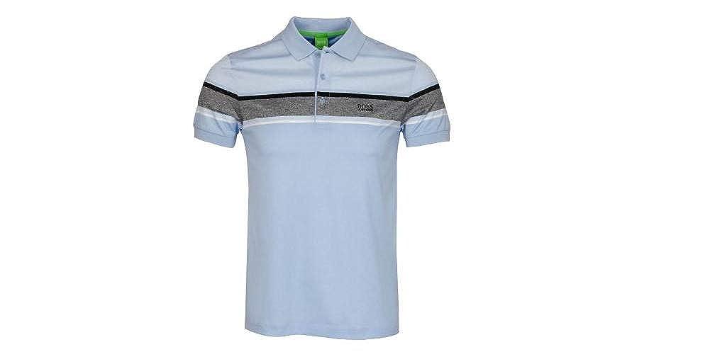 9de2bb617 Amazon.com: Hugo Boss Mens Paule 5 Polo Shirt Slim Fit Soft Touch Cotton  50315560: Clothing