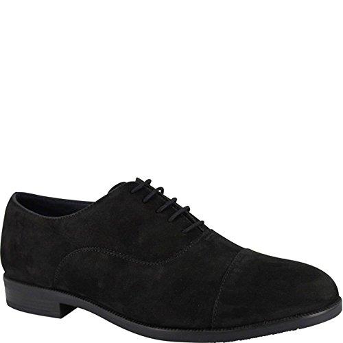 Ambre Mens Navar III Lace Nubuck Shoe Black Black