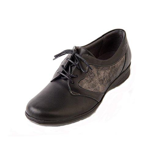 Lace Forma In Donna Up Ampia Wide 'bryony' slip E Da Fit Suave Non Antiscivolo Soave Shoe Black E Sparkle Women's 'bryony' Pizzo Scintilla Nero Scarpe OqPa6Zpw