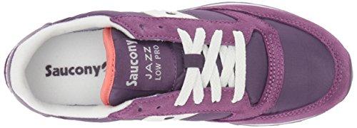 Saucony Originals Damen Jazz Lowpro Sneaker Lila / Weiß