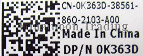 NEW DELL 1535 1536 1537 Back Lid Design Trim Screen Panel Enclosure 15.4