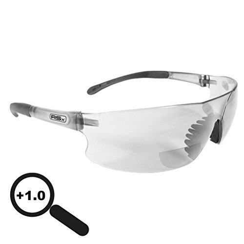 Lunarland Radians Rad Sequel Rsx +1.0 Bifocal Safety Glasses Clear Lens Rsb-110 Reading by Lunarland Outdoors