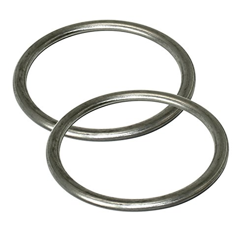 CALTRIC 2 EXHAUST PIPE GASKETS Fits KAWASAKI VN1500 VULCAN 1500 NOMAD FI (Vulcan Nomad)