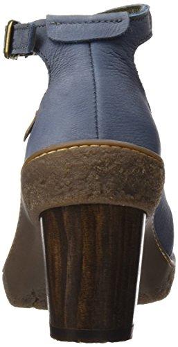 El Nf76 Donna Caviglia Naturalista Scarpe Lichen Alla Con Pleasant Cinturino vaquero Blu BrwB5R7qx