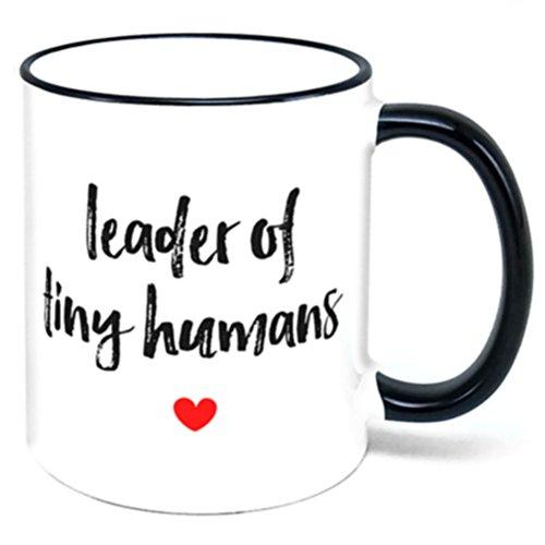 Leader Of Tiny Humans Coffee Mug mom gift