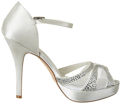 Platform Amelia white Menbur Women's Ivory Sandals 04 Off T8Wwaxa