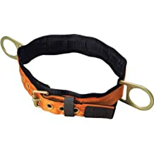 Miller Titan by Honeywell T3320/LAF Tongue Buckle Body Belt with Side D-Rings and 3-Inch Back Pad, Large by Honeywell
