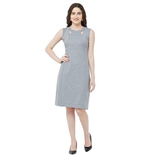 Go.4.it Women's Classy Checks Bodycon Dress