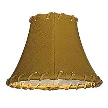 "Meyda Tiffany 135180 Leather Lamp Shade, 6.25"" Width x 4.5"" Height"