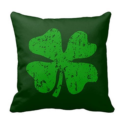 [Green Shamrock Clover St Patricks Day Throw 18