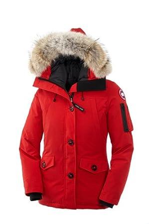 Canada Goose Montebello Parka Rosso
