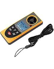 GM8910 Multifuncional Pantalla LCD Anemómetro digital Velocidades del viento del aire Medidor de escala