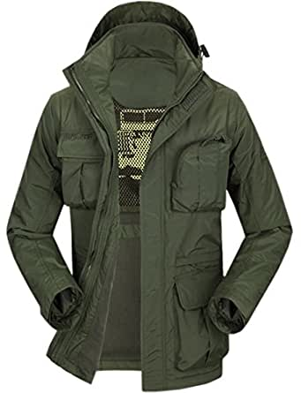 Gurteen Men's Outdoor Winter Military Style Casual Multi