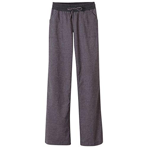 prAna Women's Mantra Pant, Coal, (Organic Yoga Pants)